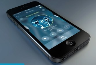 Modern Circular Music Player App UI For Mobile PSD