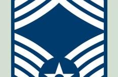 USAF E-9 Chief Master Sergeant PSD