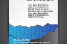 Corporate Business Brochure Design Vector 03