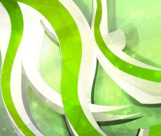 Colored Abstract Spirals Background Vector 01