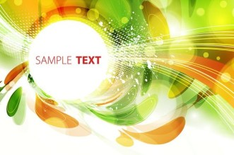 Retro Abstract Technology Background Vector 02