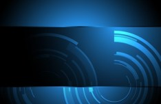 HI-Tech Abstract Digital Background Vector 05