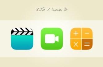 3 Sweet iOS 7 Icons PSD Vol 3