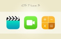 3 Sweet iOS 7 Icons PSD Vol 3