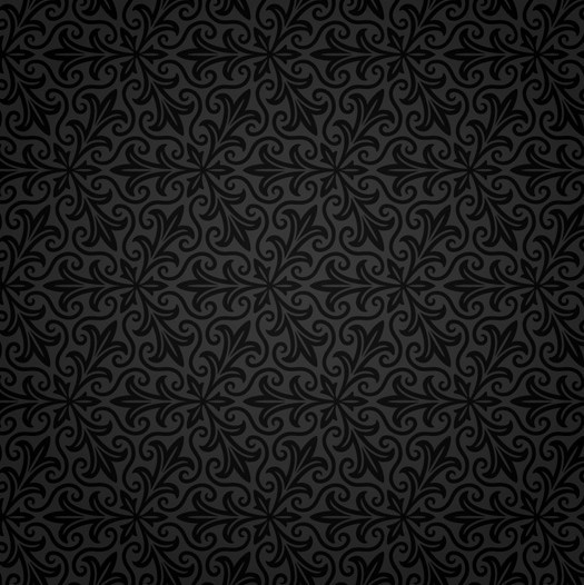 Vector Flower Black White Background Wallpaper: Free Seamless Classical Pattern Background Vector 02