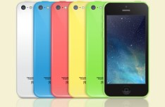 iPhone 5C Templates Vector (Front and Back)