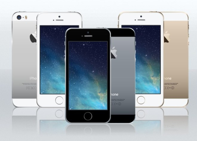 iPhone 5S Templates Vector (Front and Back)