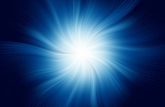 Blue Technology Glowing Lights Background Vector