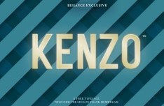 Kenzo Typeface