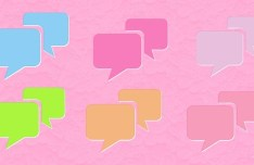 Sweet Text Message Icons PSD