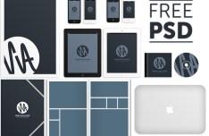 SvA - Corporate Design MockUp PSD