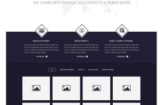 KIPA Website Template PSD