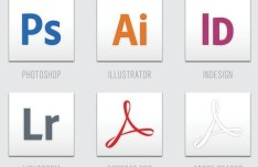Adobe Creative Clean Icons Set