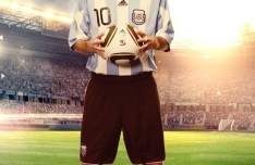 Messi 2013 Football Flyer PSD