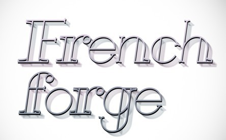 French Forge Typeface