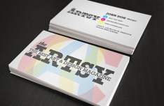 Artsy Business Card PSD