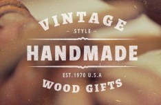 Set Of 5 Vintage Style Labels & Insignias Vector