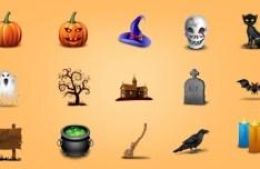 Lovely Halloween Icon Set