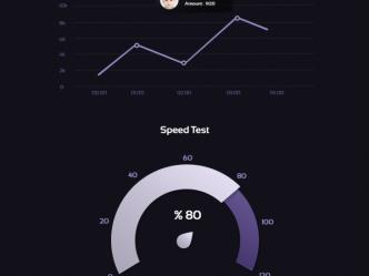 6 Purple Charts & Graphs PSD