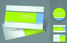 Elegant & Colorful Business Card Templates Vector 05