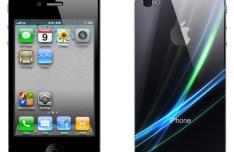Black iPhone 4 Mockup PSD