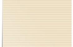 Stylish Notepad Paper Design PSD