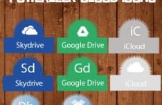 PowerLeek's Cloud Storage Icons