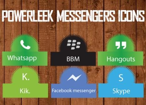 PowerLeek's Messengers Icons