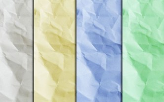 5 Colorful Crumpled Paper Textures