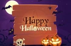 Happy Halloween Illustration Vector 02