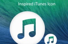 OS X Mavericks Style iTunes Icon