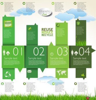 Weather Forecast Infographic Design Template Vector 02