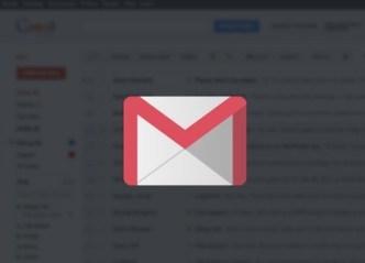 Flat Long Shadow Gmail Icon Vector