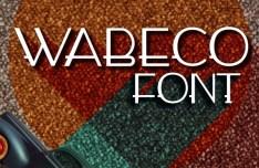 Wabeco Font