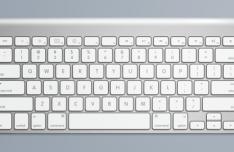 Apple Keyboard PSD Template