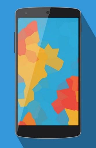 Minimal Google Nexus 5 Mockup Vector PSD