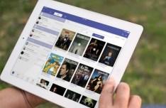 iOS 7 iTV Show iPad App GUI PSD