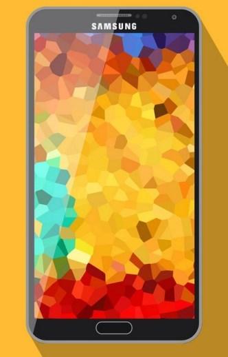 Galaxy Note 3 Mockup Vector PSD