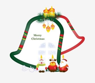 Fresh Merry Christmas Frame Vector 05