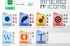 Various File Type Icons