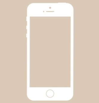 Apple iPhone 5S Vector Shape