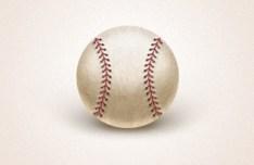 Simple Baseball PSD