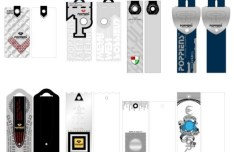 Clothing Tag & Label Design Vector