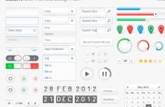 Massive UI Design Pack Vol.1 PSD