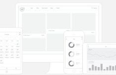 UI8 Wireframe UI Kit Vector