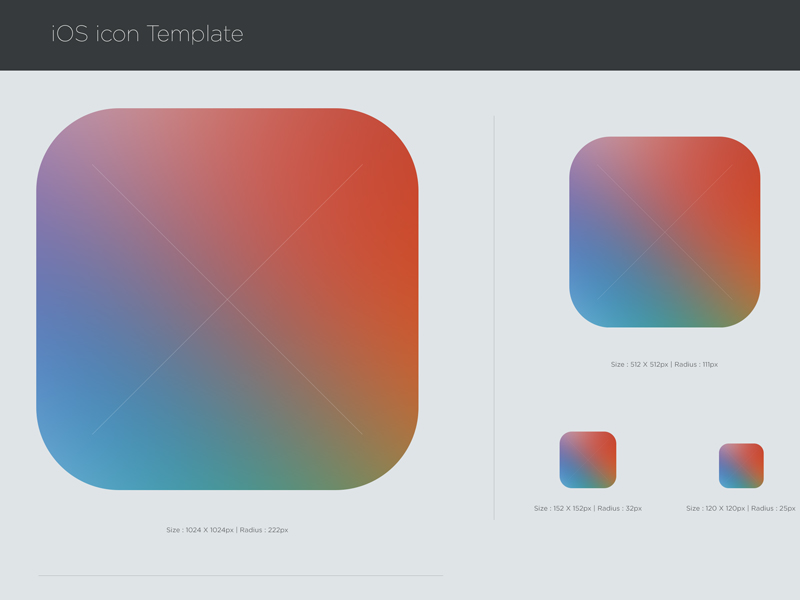 Free Ios 7 Icon Psd Template Titanui