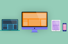 Apple Devices Flat PSD