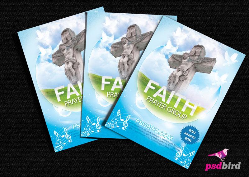 Free Christian Church Religious Brochure PSD TitanUI – Religious Brochure