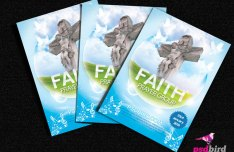 Christian Church & Religious Brochure PSD