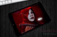 iPad Mini Perspective Mockup PSD